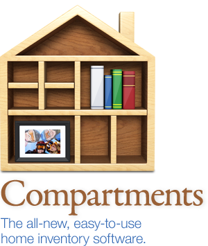 Compartments: Gorgeous, easy to use Mac home inventory software.